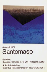 Müller-Yoshikawa Shizuko  - Santomaso - P&P Galerie Zug