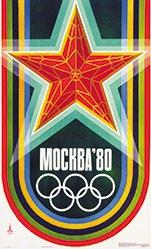 Anonym - Olympic games Mockba