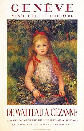 Anonym - De Watteau à Cézanne