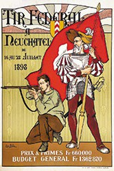 Bille Edmond - Tir fédéral Neuchâtel