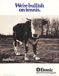 Maddock Judy - We're bullish on tennis - Etonic
