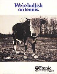 Maddock Judy - We're bullish on tennis - Etonic