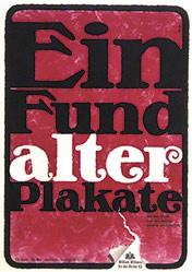 Monogramm Boe - Ein Fund alter Plakate