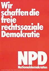 Anonym - Freie rechtszentrale Demokratie - NPD