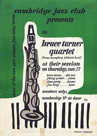 Monogramm Jay - Cambridge Jazz club presents