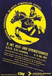 Anonym - Reit- und Springturnier