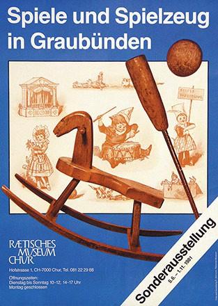Allemann R. - Spiele und Spielzeug in Graubünden