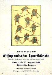 Anonym - Altjapanische Sportkünste