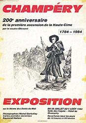 Clement F. - Exposition sur le thème des Dents-du-Midi