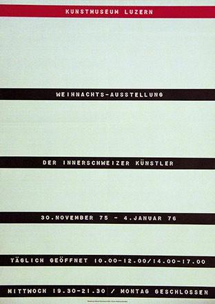 Rickenbach Werner - Weihnachts-Ausstellung