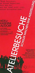 Werbestudio 3 - Atelierbesuche - Höfli-Kaserne