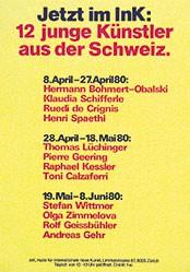 Anonym - 12 junge Künstler aus der Schweiz