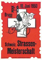 Keller Xaver - Schweiz. Strassen-Meisterschaften Brugg