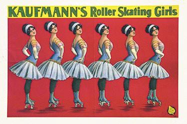 Friedländer Adolph - Kaufmann's Roller Skating Girls