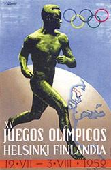 Sysimetsä Ilmari - Juegos Olimpicos Helsinki