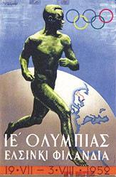 Sysimetsä Ilmari - Olymic Games Helsinki