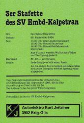 Anonym - Stafette des SV Embd-Kalpetran