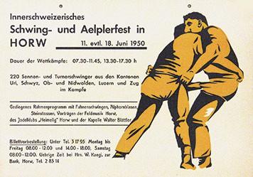 Anonym - Schwing- und Aelplerfest in Horw