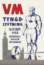 Lindberg Georg - VM Tyngd-Lyfting
