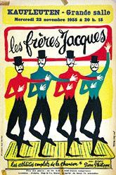 Malclès Jean Denis - Les frères Jacques - Kaufleuten