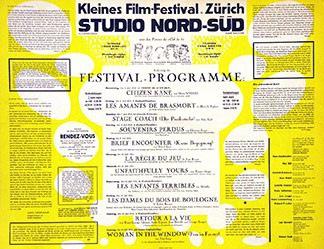 Anonym - Kleines Film-Festival Zürich