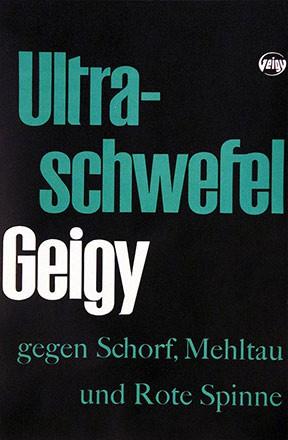 Anonym - Geigy - Ultra-Schwefel