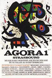 Miró Joan - Agora 1 - Strasbourg