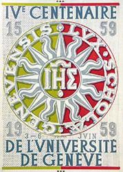 Fustier Georges - Centenaire de l'université de Genève