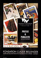 Papilloud Jean-Claude - Presse & Publicité