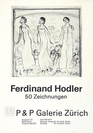Anonym - Ferdinand Hodler - P & P Galerie