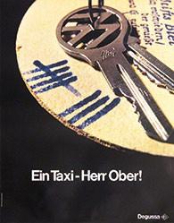 Graphicteam Köln - Ein Taxi - Herr Ober!