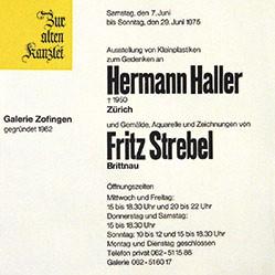 Anonym - Hermann Haller / Fritz Strebel
