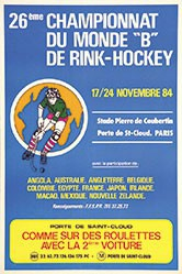 Anonym - Championnat de Rink-Hockey