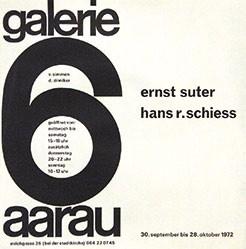 Anonym - Ernst Suter / Hans R. Schiess