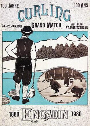Wiesner Ruedi (jun.) - 100 Jahre Curling im Engadin