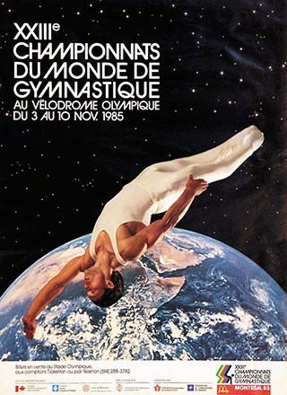 Anonym - Championnats du monde de Gymnastique