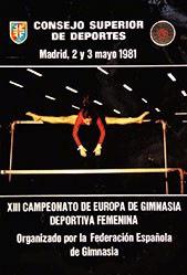 Anonym - Campeonato de Europa de Gimnasia