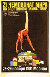 Anonym - Gymnastik Mockba