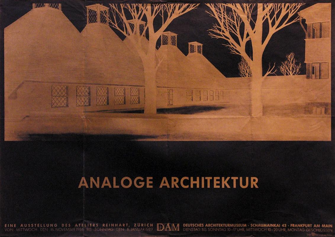 Architektur Atelier anonym analoge architektur atelier reinhart