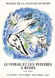 Chagall Marc - Le Vitrail et les Peintre a Reims