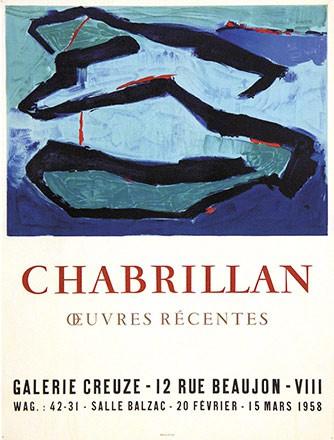 Anonym - Chabrillan - Galerie Creuze