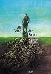 Bundi Stephan Atelier - Der Stand der Bauern