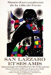 Miró Joan - San Lazzaro et ses amis