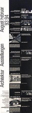 Anonym - Architektur Ausstellung