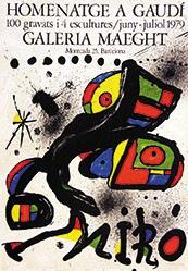 Miró Joan - Homenatge a Gaudi