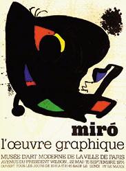 Miró Joan - Miró - l'oeuvre graphique