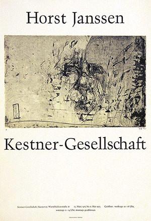 Anonym - Horst Janssen - Kestner-Gesellschaft