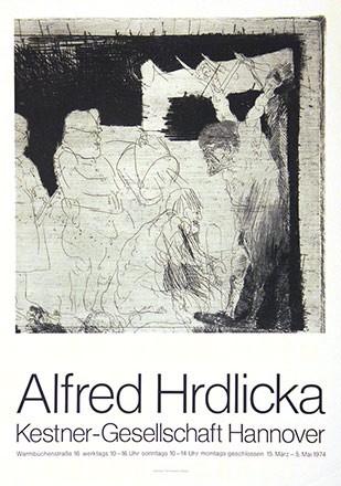 Anonym - Alfred Hrdlicka - Kestner-Gesellschaft