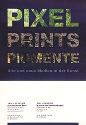 Ting Julie & Rufer Andreas - Pixel Prints Pigmente
