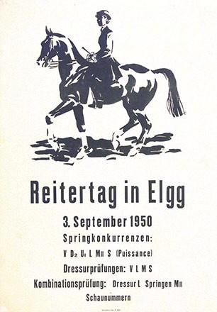 Laubi Hugo - Reitertag in Elgg